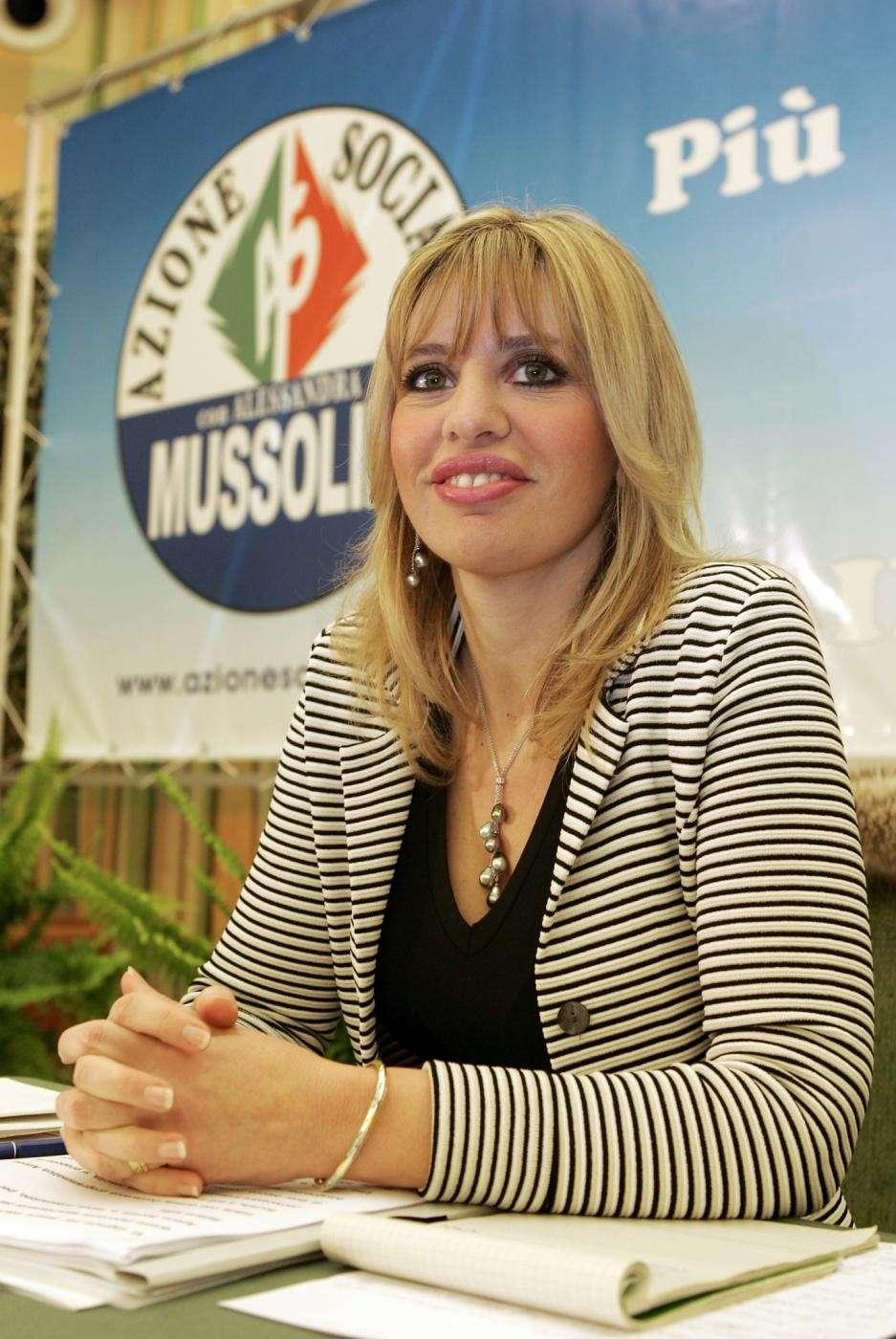 Alessandra Mussolini per Azione Sociale