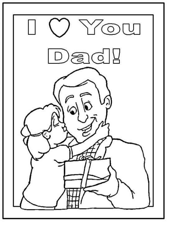 Biglietto affettuoso per papà