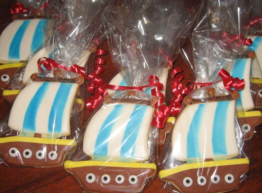 Biscotti coperti di glassa