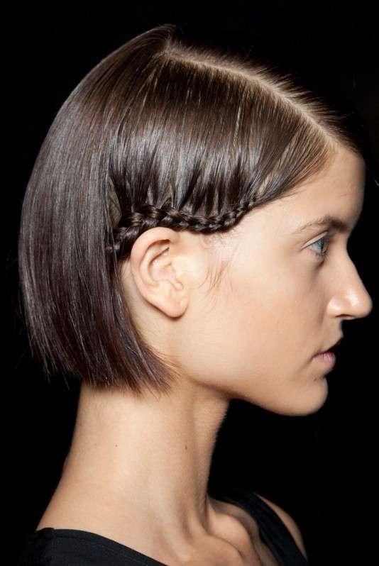 Hairstyle capelli fini con treccine