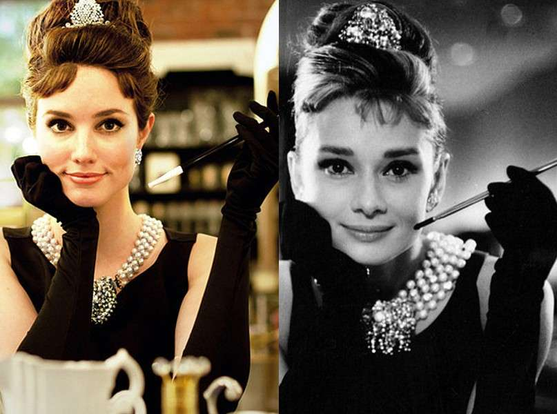 Holly Golightly di Colazione Da Tiffany