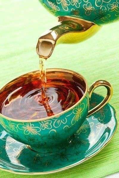 Idea per serivire il tè
