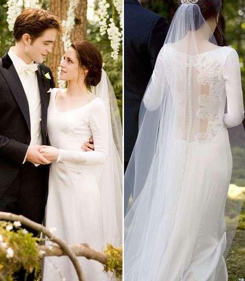 L'abito da sposa di Twilight