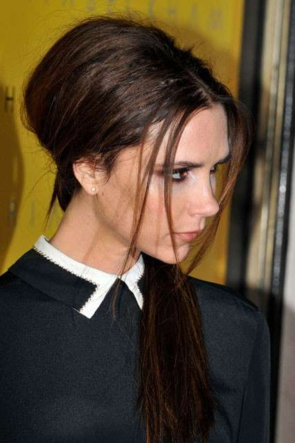 L'acconciatura di Victoria Beckham