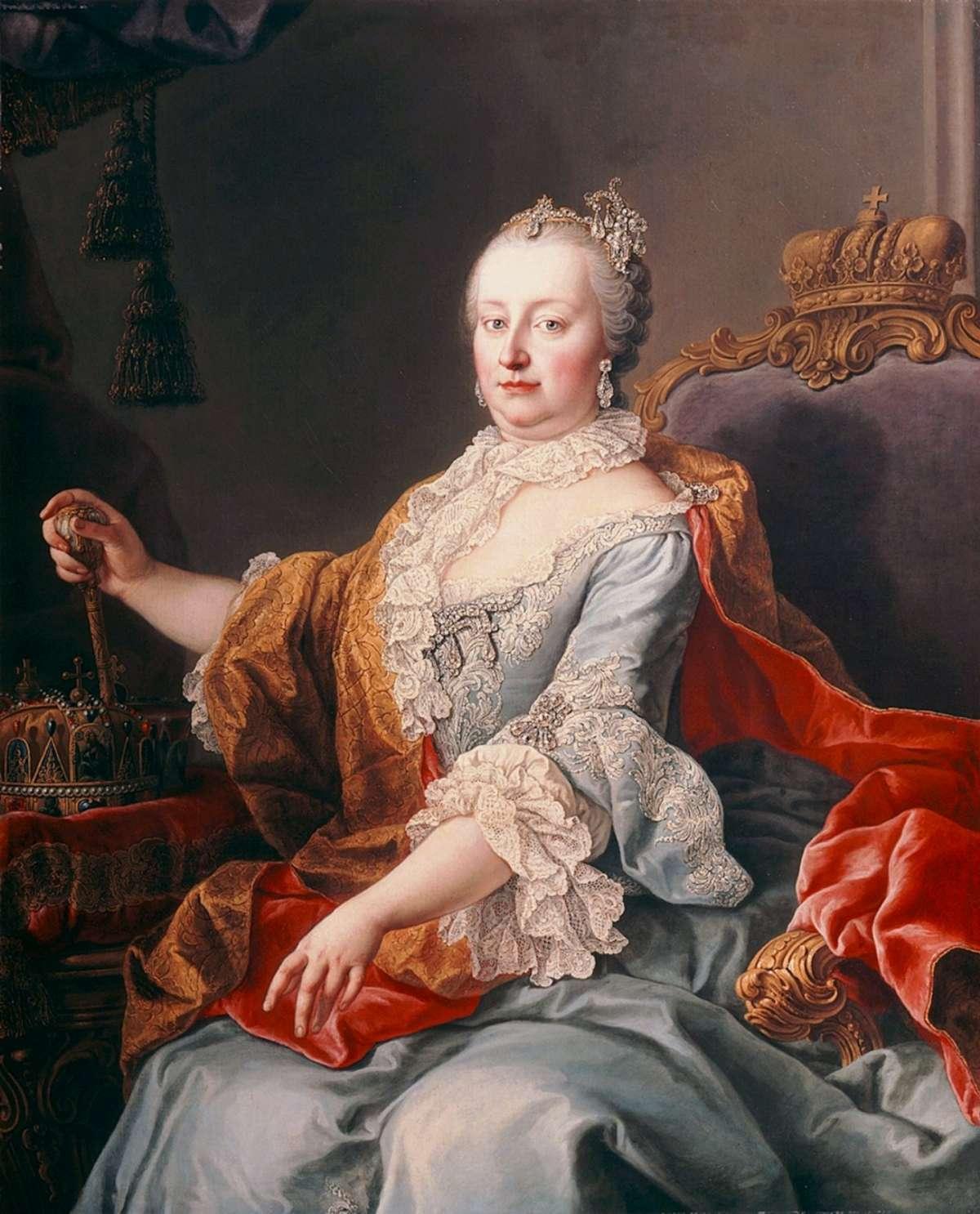 Maria Teresa d'Austria tra le regine più famose