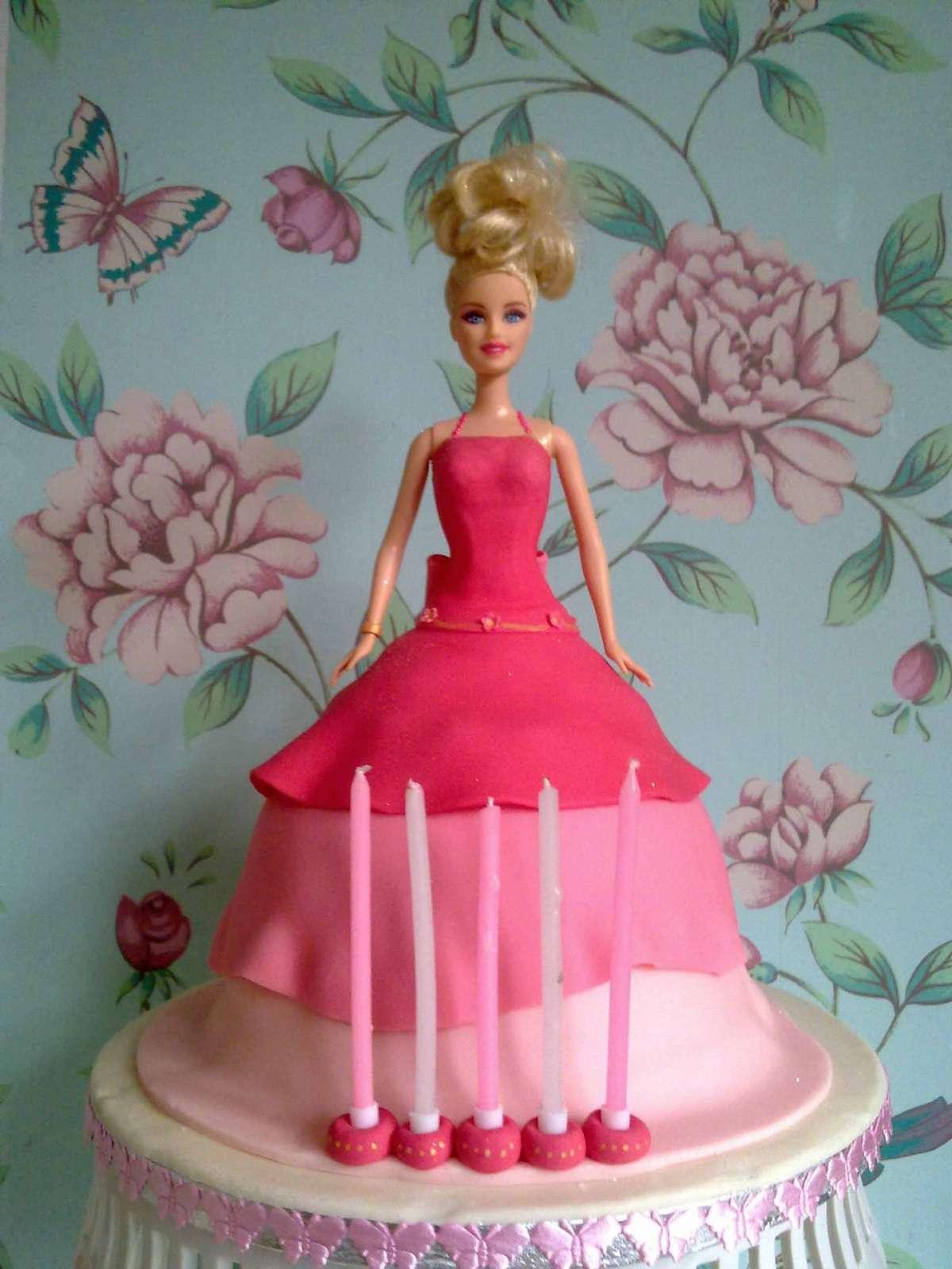 Torta di Barbie