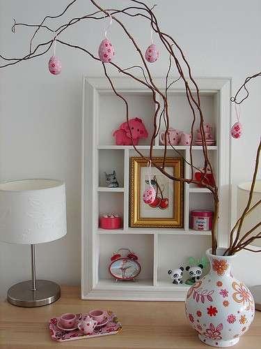 Albero pasquale rosa