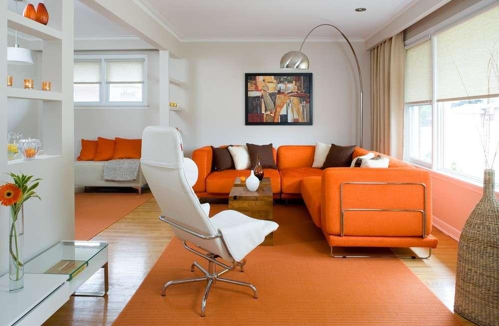 Arredare casa con i colori caldi
