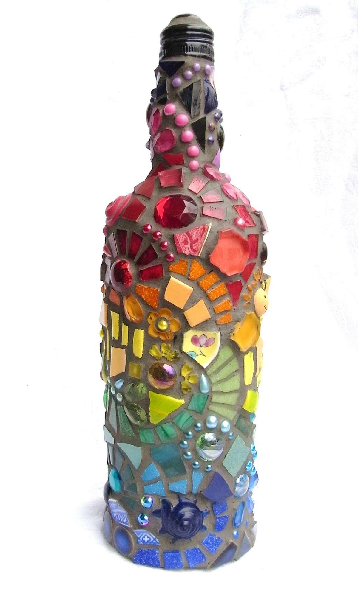 Bottiglia di riciclo