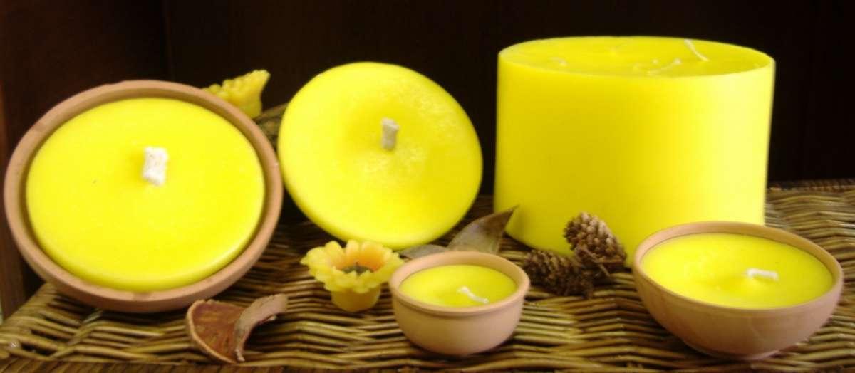 Candele fai da te citronella