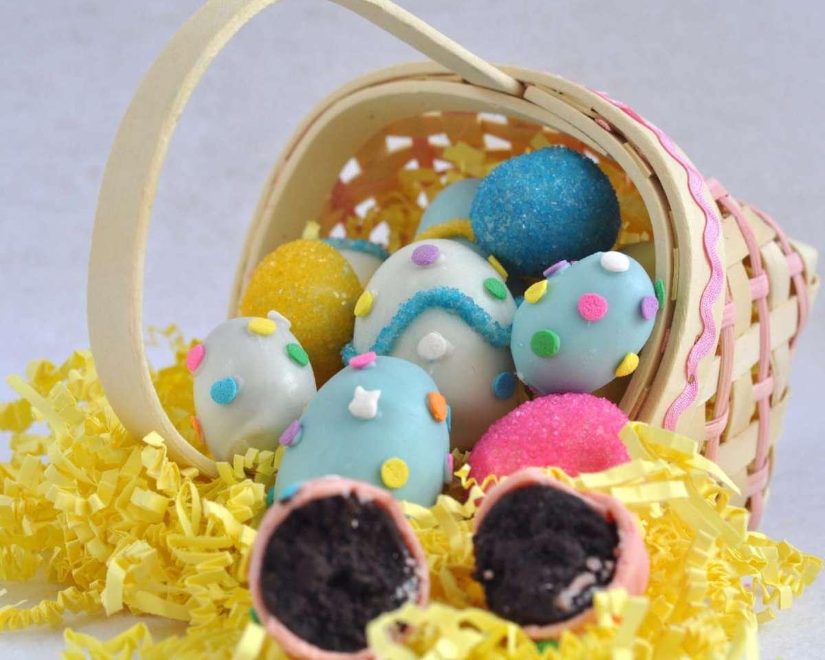 Cestini per le uova di Pasqua fai da te