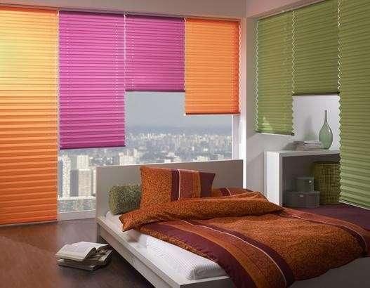 Coloratissime tende per la casa