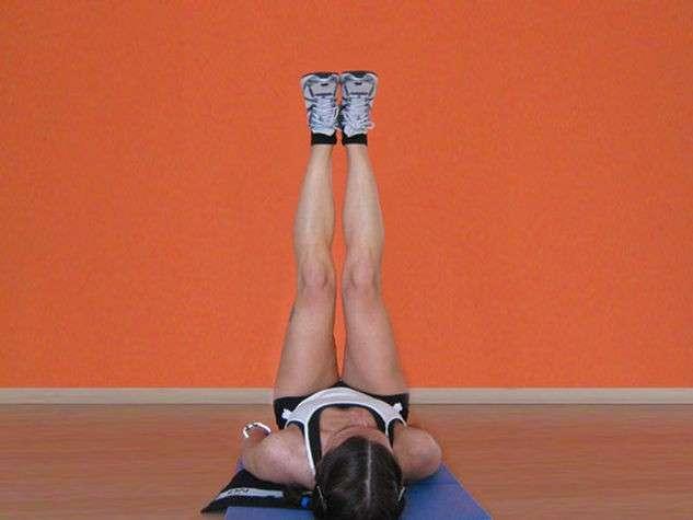 Esercizi per i glutei con le gambe
