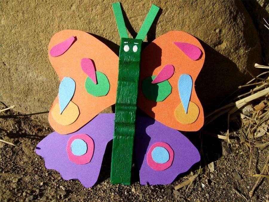Farfalla fai da te