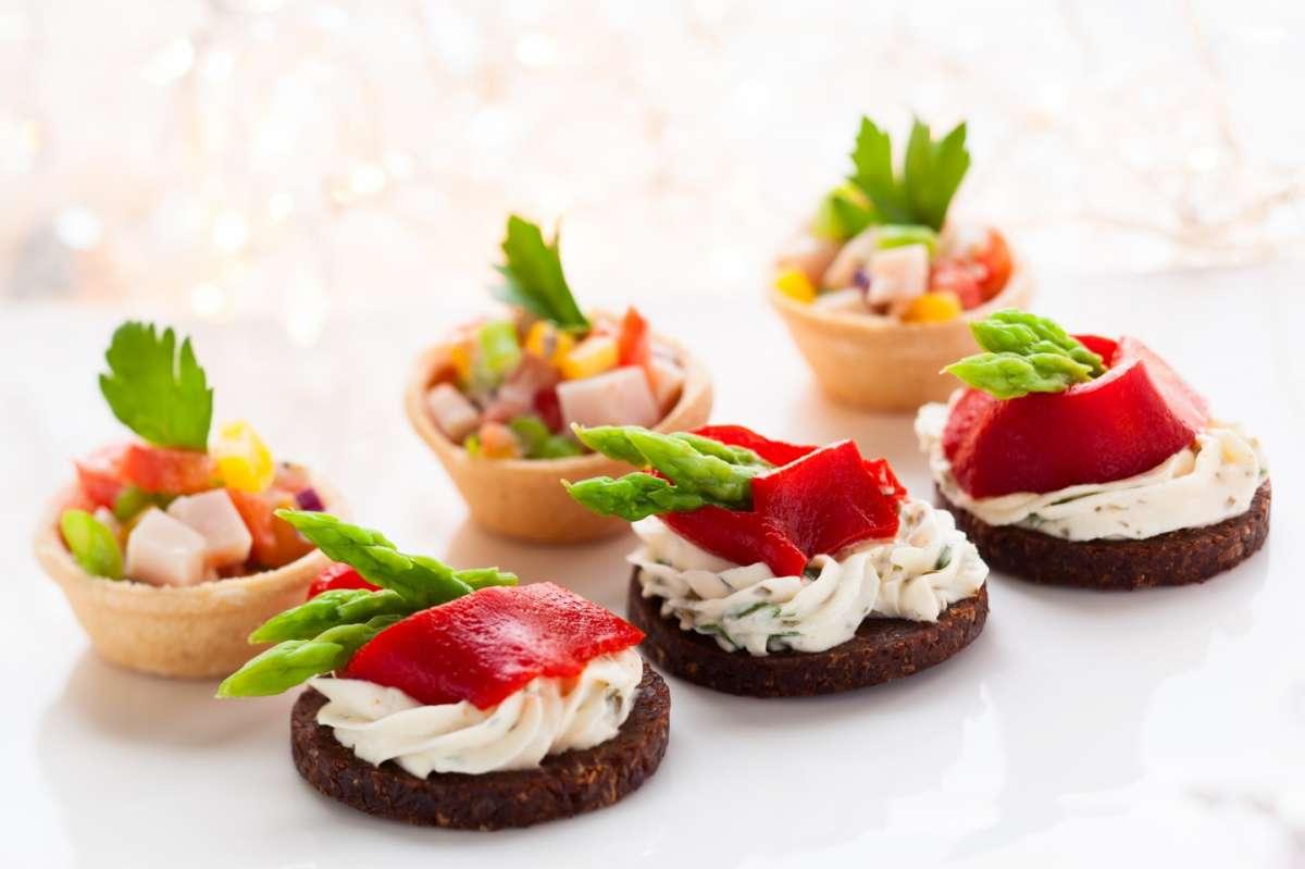 Finger food per un buffet