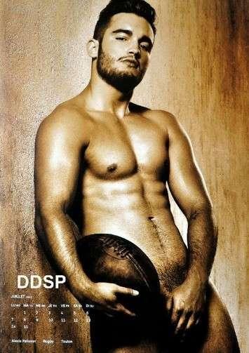 Il giocatore di rugby più bello Alexis Palisson