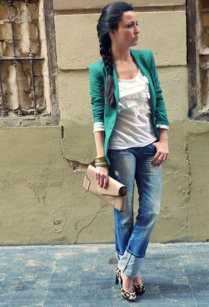 occupazione lattina emergenza  Abbinamento jeans e scarpe