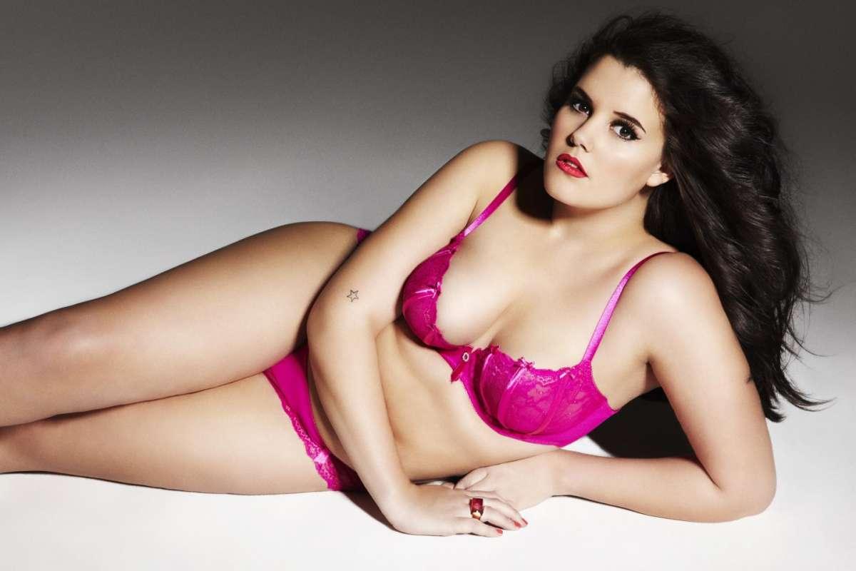 La modella Lucy Moore