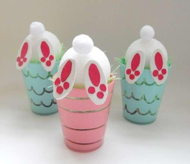 Lavoretti creativi per bambini: i coniglietti pasquali