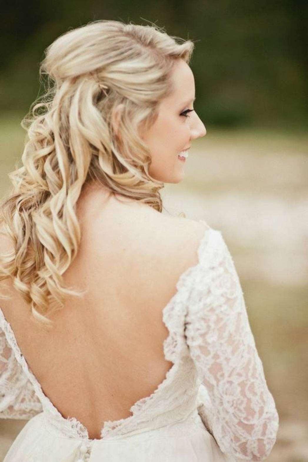 Semiraccolto per la sposa