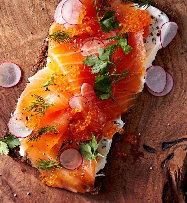 Stuzzichini al salmone