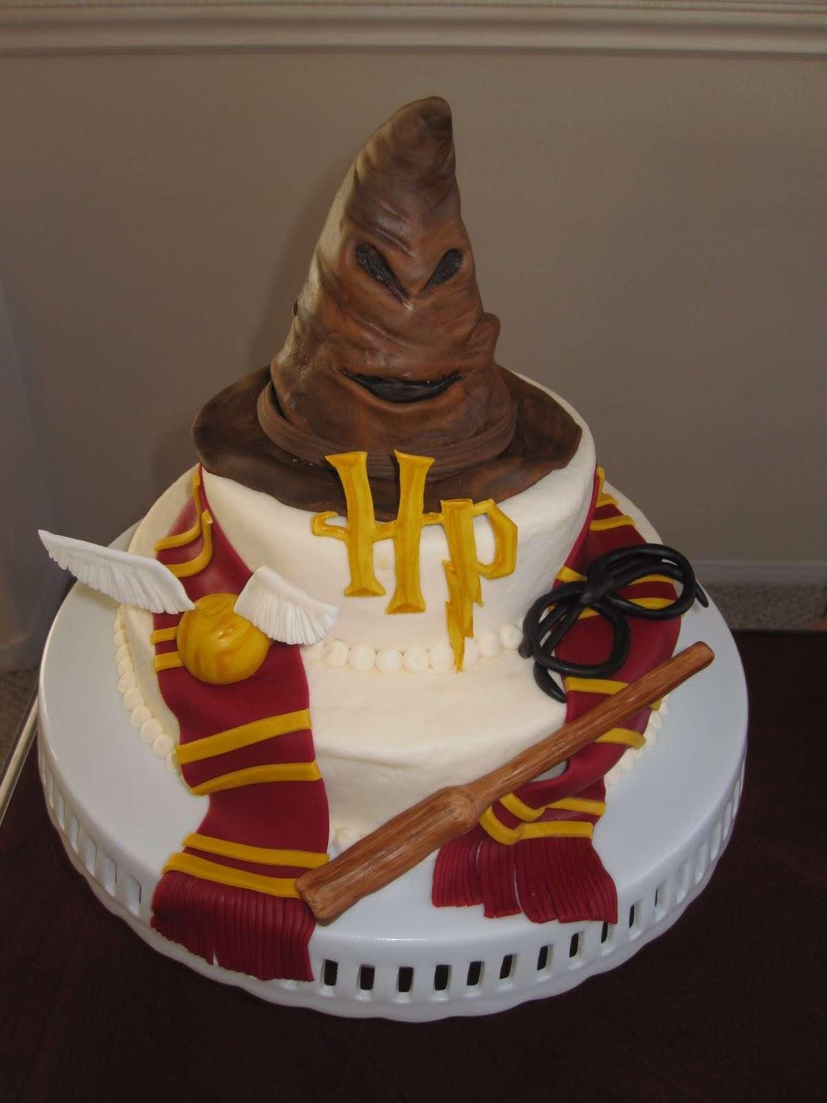 Torta di pasta di zucchero di Harry Potter