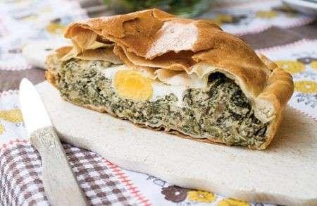 Torta pasqualina con uova