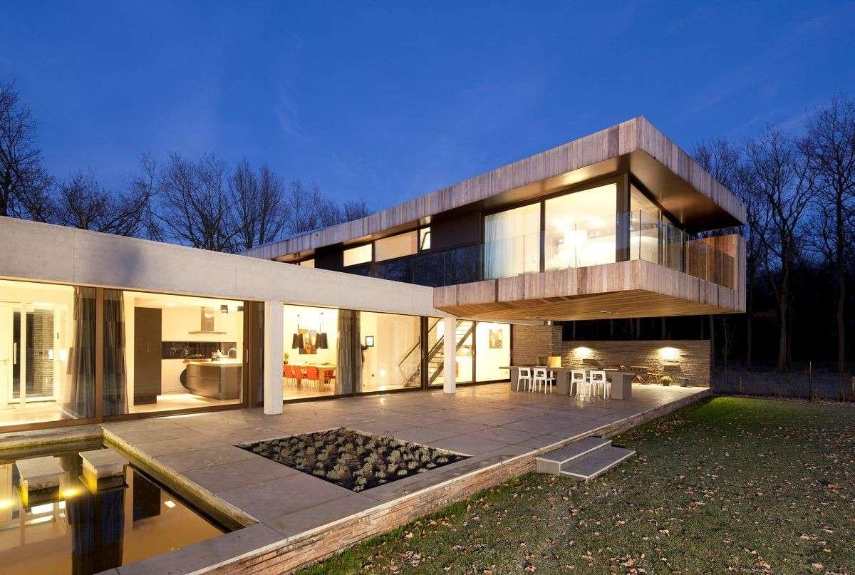 Una villa in stile moderno