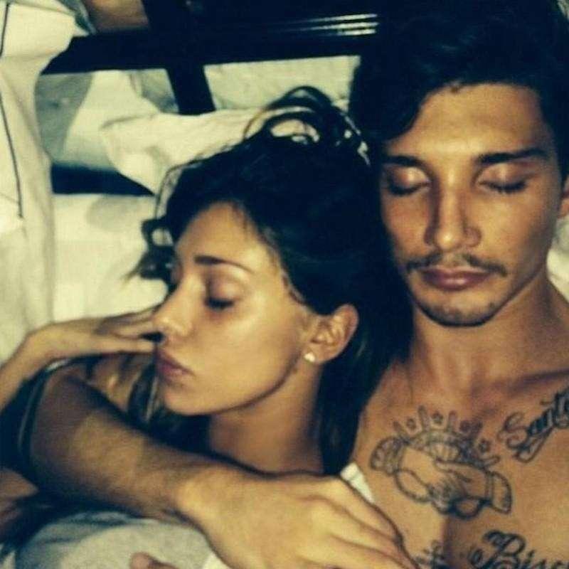 Aftersex selfie della coppia vip