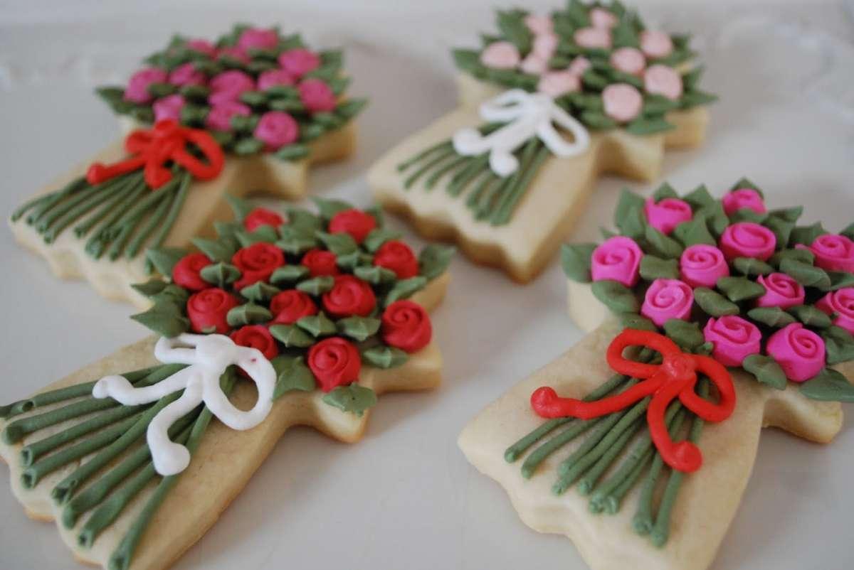 Biscotti mazzo di fiori