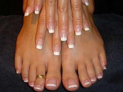 Decorazione per unghie dei piedi