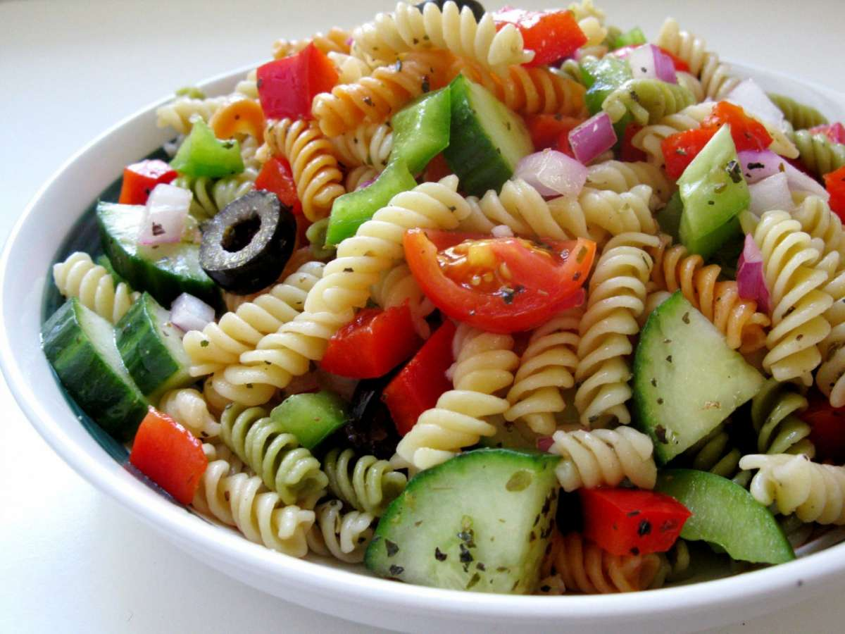 Fusilli con verdure