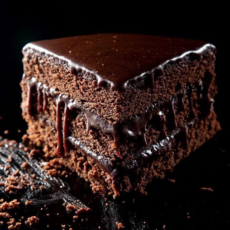 Torta al cioccolato fatta in casa
