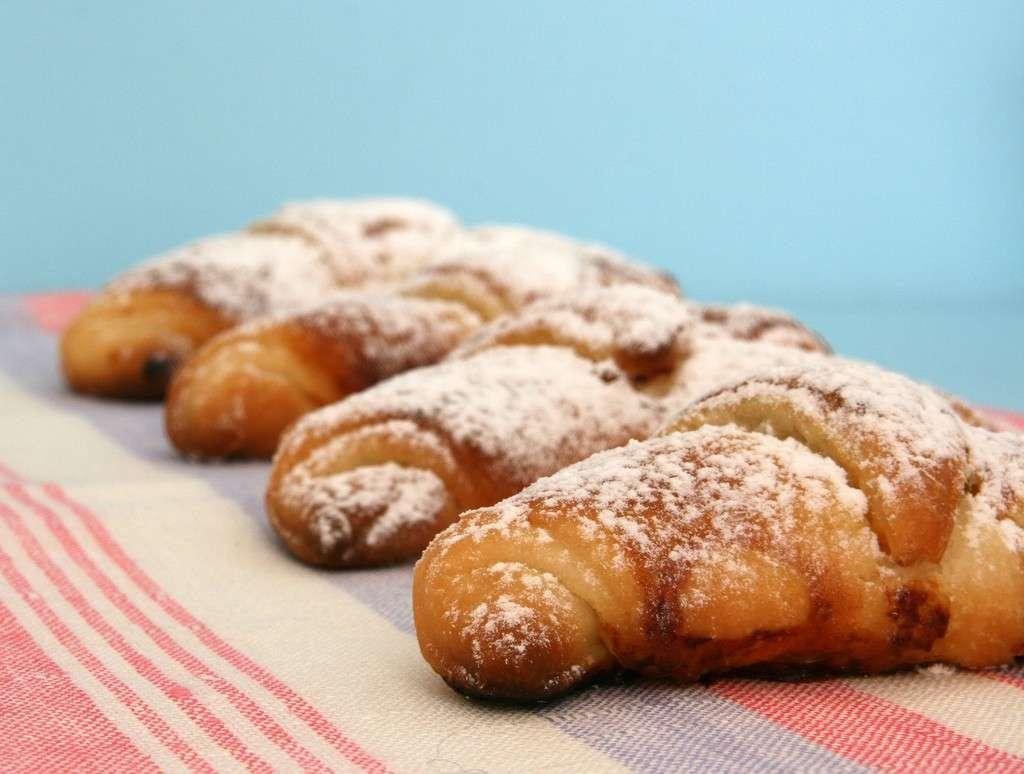 Croissants e pasticcini