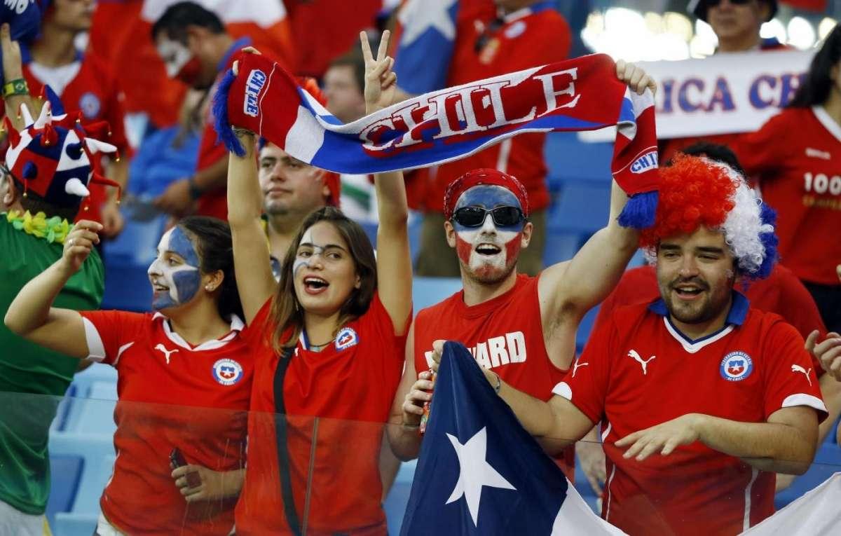 La tifoseria del Cile