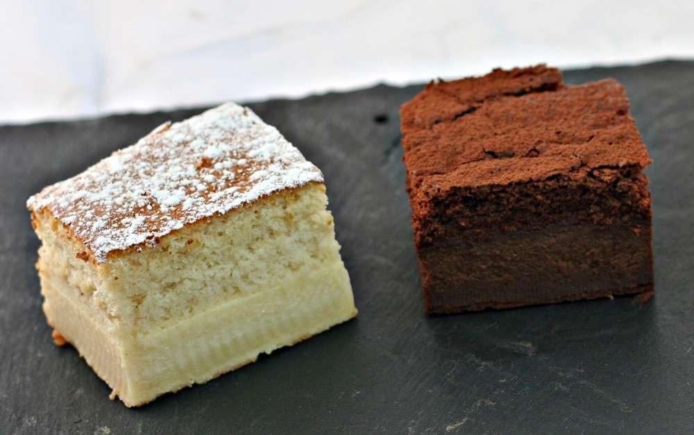 Torta magica vaniglia