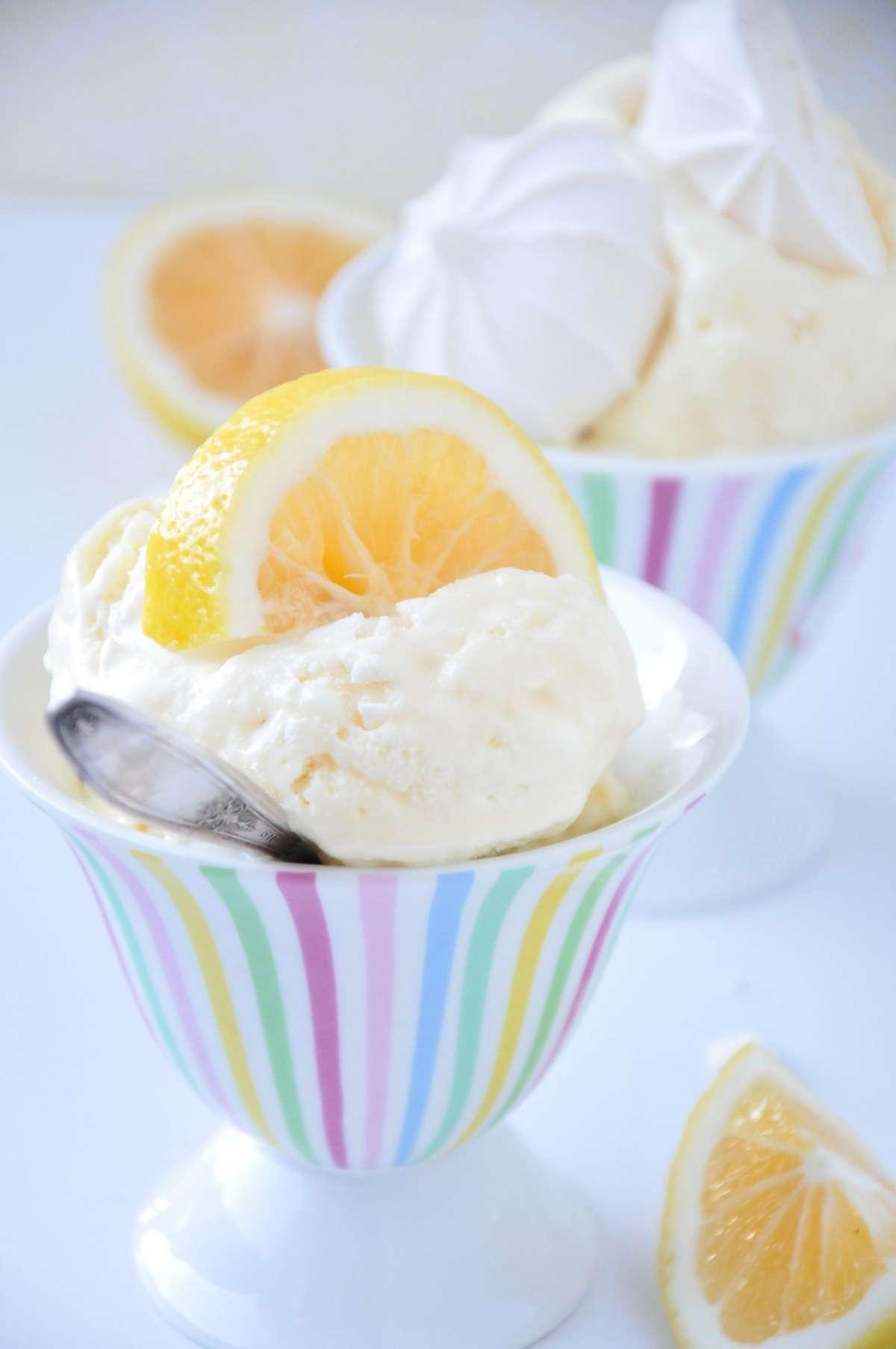 Crema mousse al limone