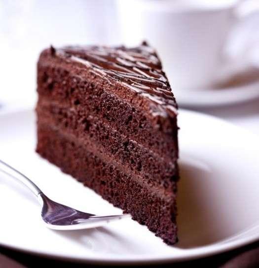Dessert al doppio cioccolato