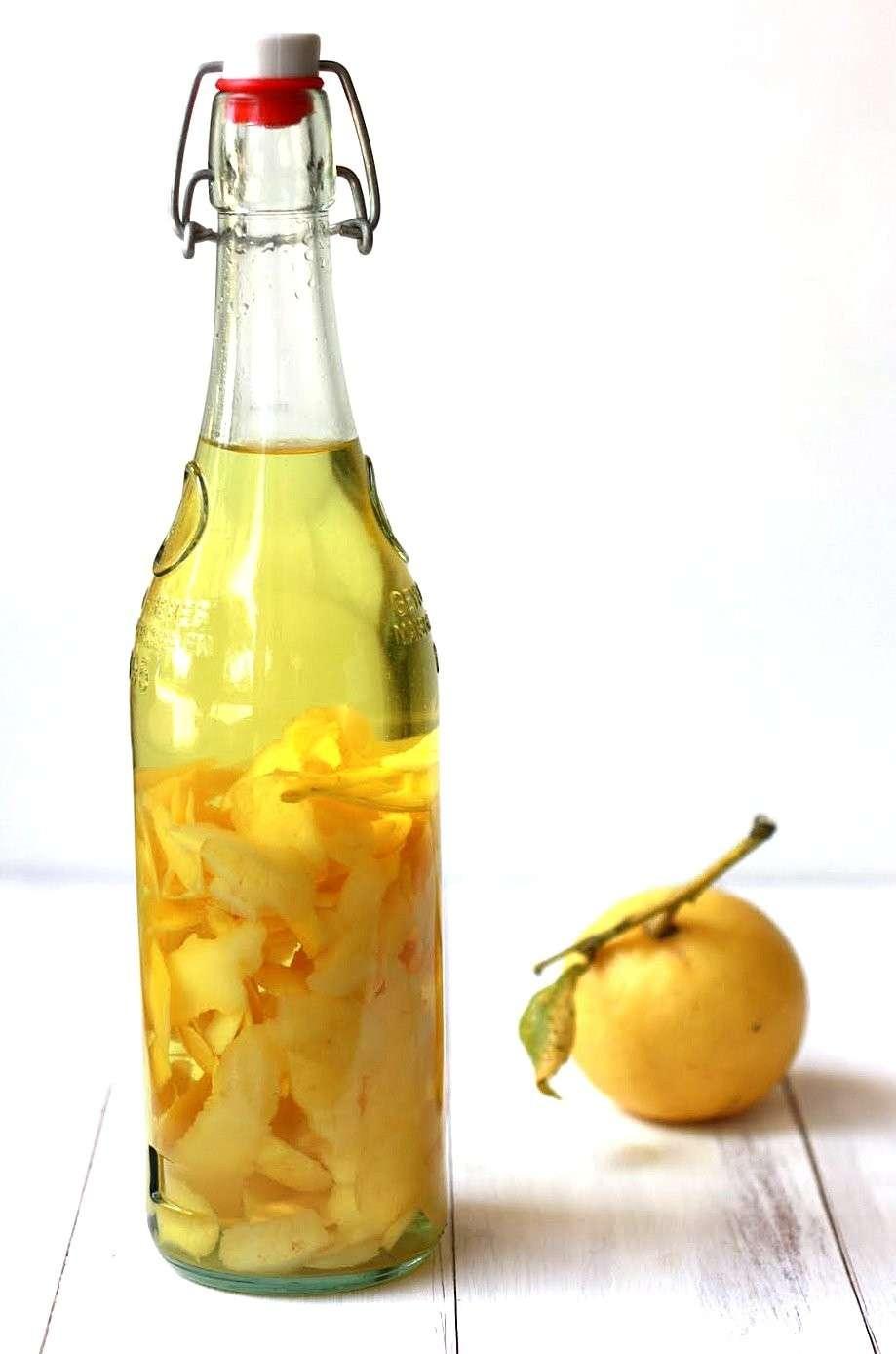 Fase della preparazione del limoncello