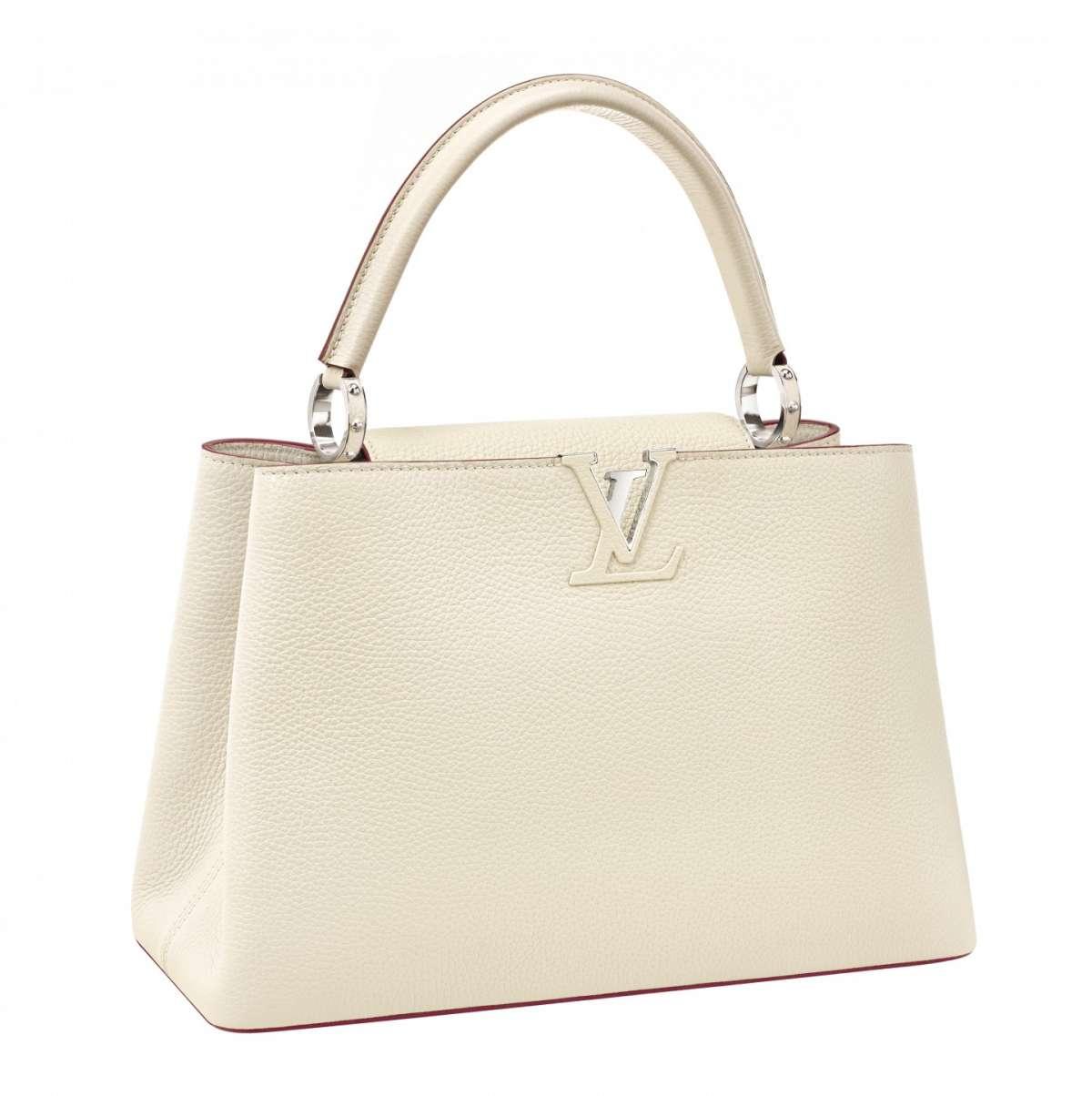 Handbag avorio Louis Vuitton