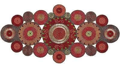 ispirazioni indiane per una tovaglietta coloratissima