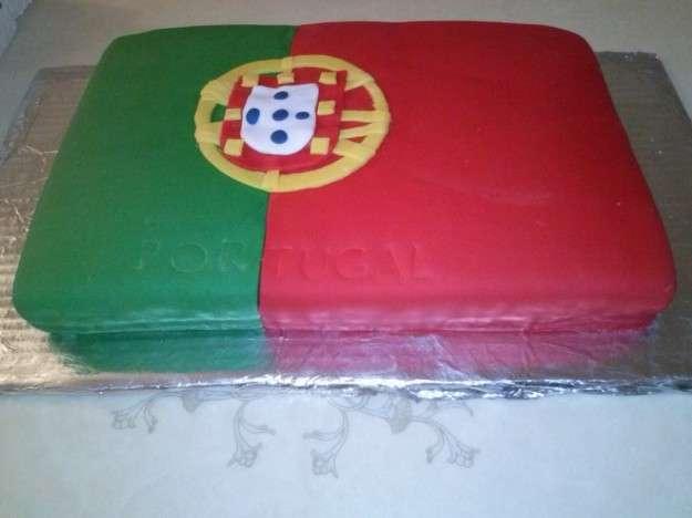 La bandiera del Portogallo