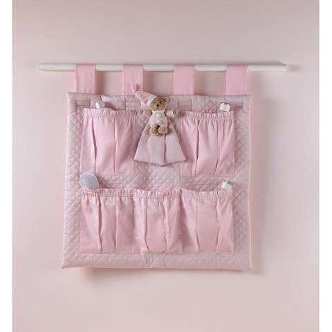 Portaoggetti rosa da appendere