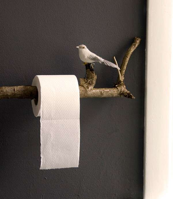 Riuso creativo per il bagno