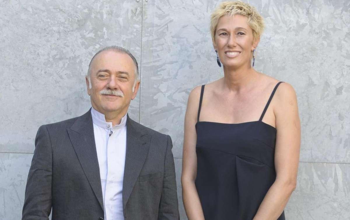 Roberta Bellesini e Giorgio Faletti