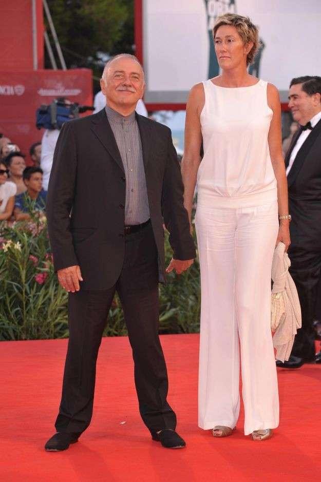 Roberta Bellesini insieme al marito