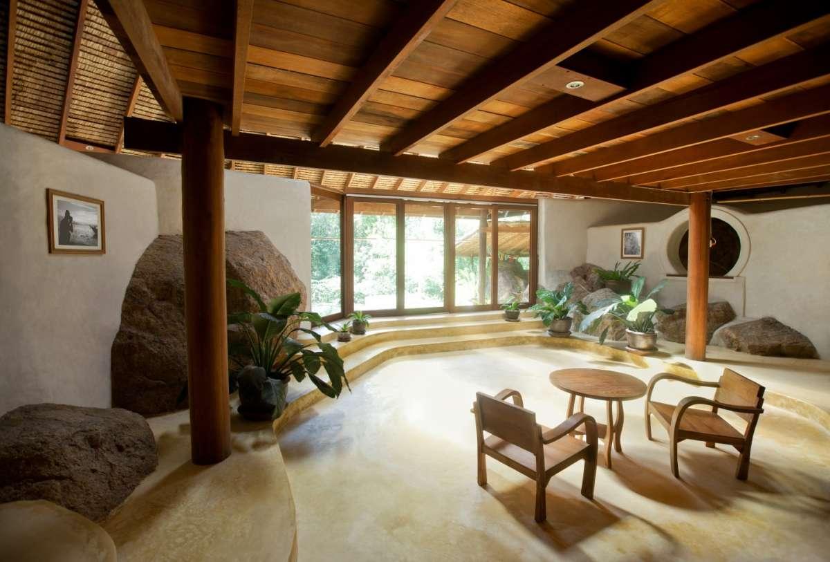 Arredi e rivestimenti della casa zen