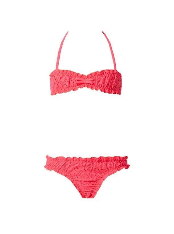 Bikini con il fiocco
