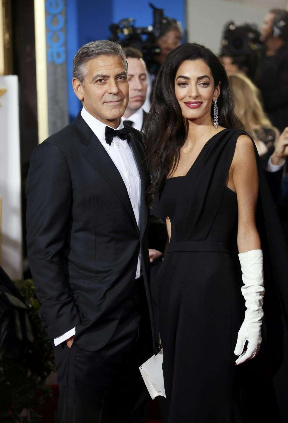 Clooney e la moglie a Beverly Hills