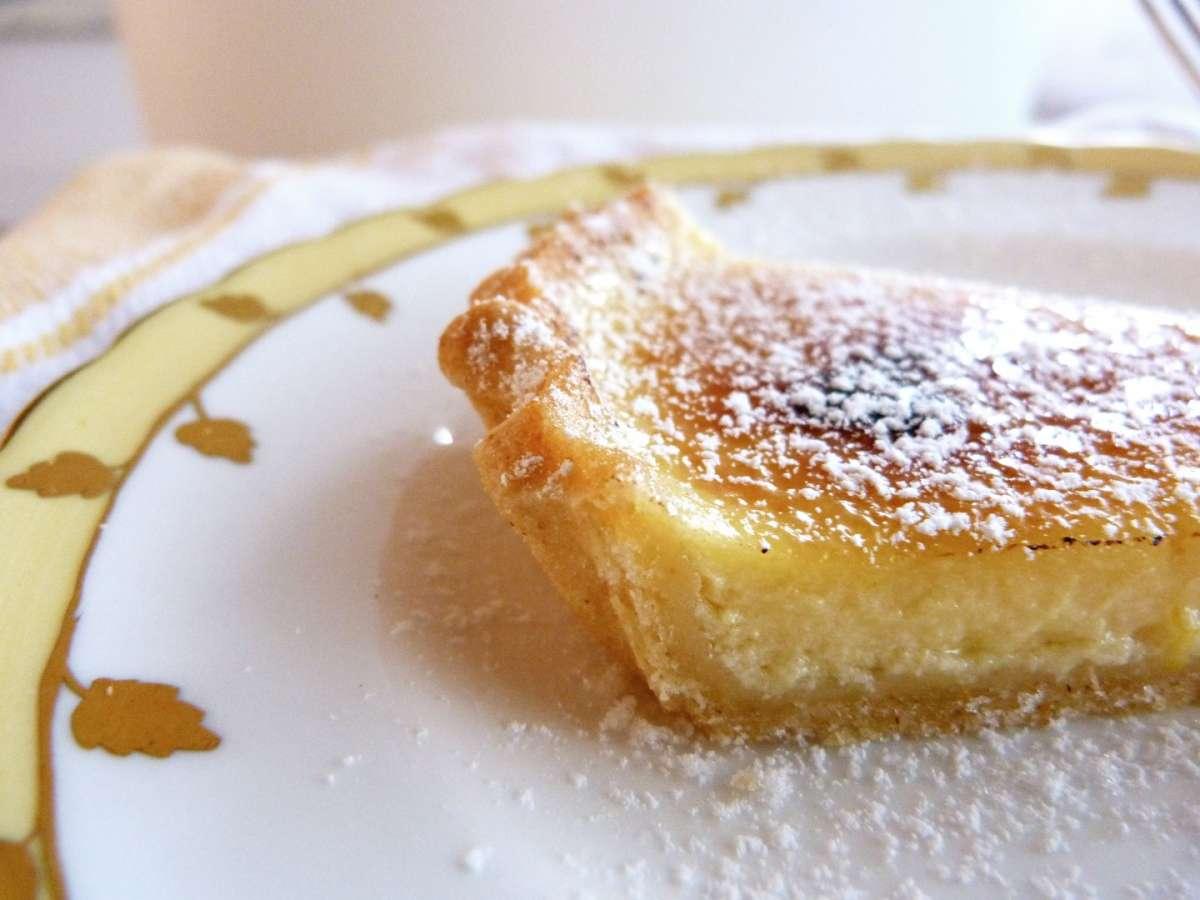 Crostata di riso aromatizzata al limone